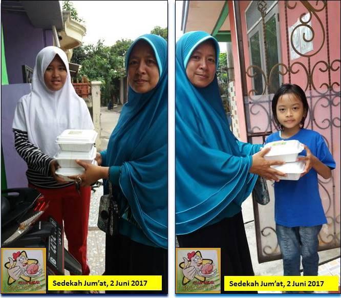 Berbagi Berkah Melalui Sedekah Jumat Pertama Ramadhan 1438H